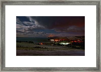 Cushendun By Night Framed Print