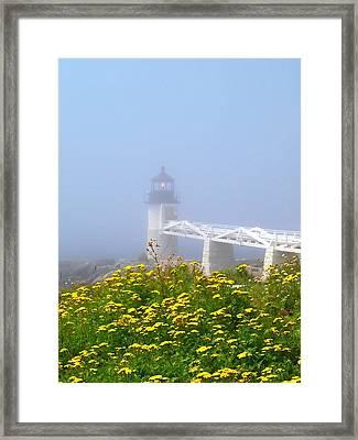 Cushing Lighthouse Framed Print