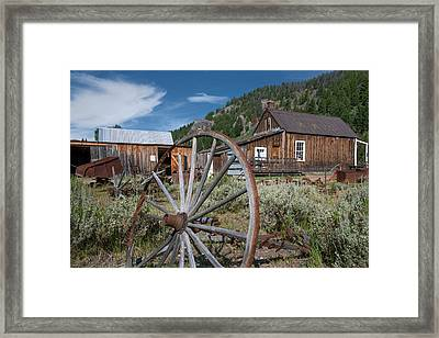 Custer Framed Print by Leland D Howard