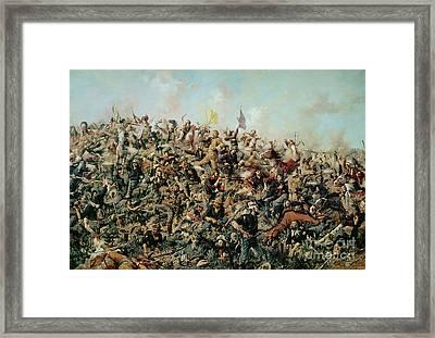 Custer's Last Stand Framed Print by Edgar Samuel Paxson