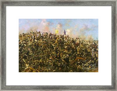 Custer's Last Stand Framed Print by Pg Reproductions