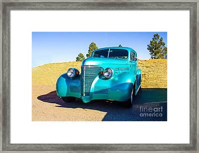 Custom 39 Framed Print