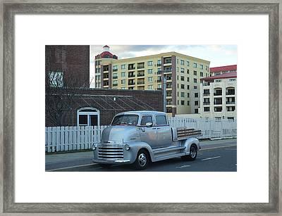 Custom Chevy Asbury Park Nj Framed Print