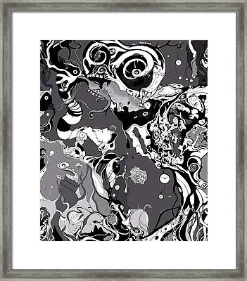 Custom Cut Selection 01 Framed Print