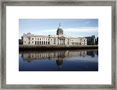 Custom House Dublin Framed Print