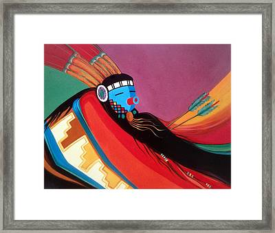 Custom Kachina Framed Print
