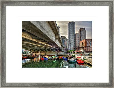 Framed Print featuring the photograph Custom Order - Boston Rowing Center by Joann Vitali