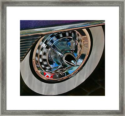 Custom Roulette Framed Print by Gwyn Newcombe