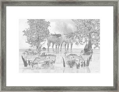 Custom Sketch 47 Framed Print by Betsy Knapp