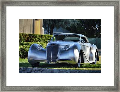 Custom Stainless Roadster Framed Print