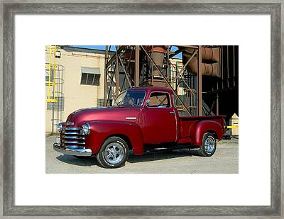 Custom Truck Framed Print