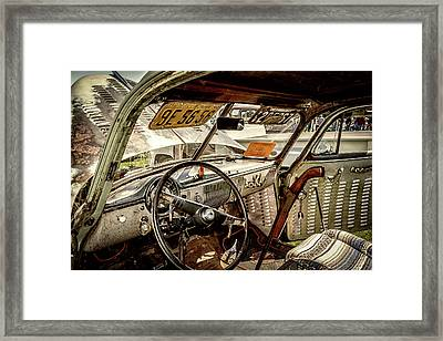 Custom Visors Framed Print
