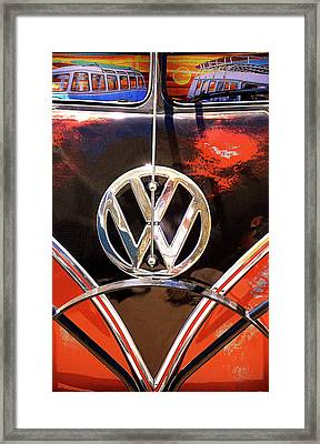 Customized Van Framed Print by Ron Regalado