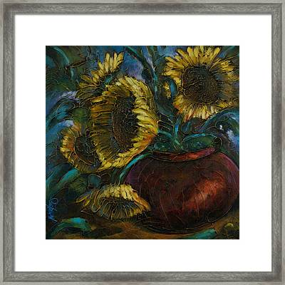 Cut Short Framed Print by Michael Lang