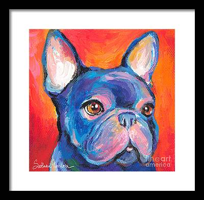 Puppies Framed Prints