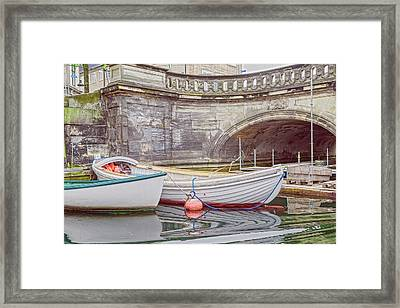 Cuties In The Corner Nyhavn Copenhagen Framed Print