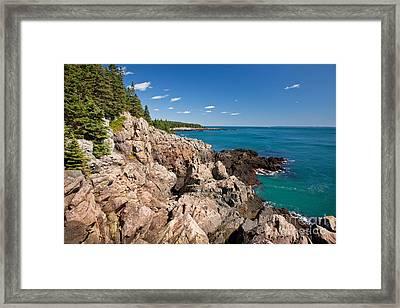 Cutler Cliffs 1 Framed Print