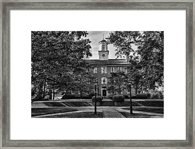 Cutler Hall Framed Print by Michael Carson