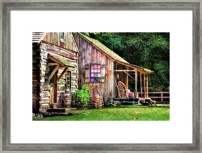Cuttalossa Farm  Framed Print