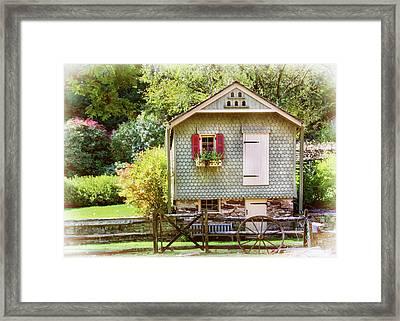 Cuttalossa Farm Shed Framed Print