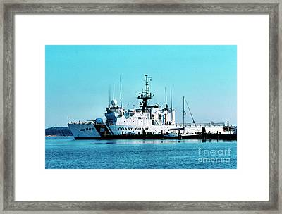 Cutter Tampa Framed Print by Thomas R Fletcher
