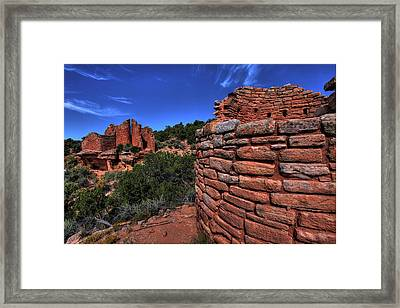 Cutthroat Castle Framed Print by Mike Flynn