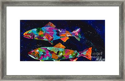 Cutthroats Framed Print