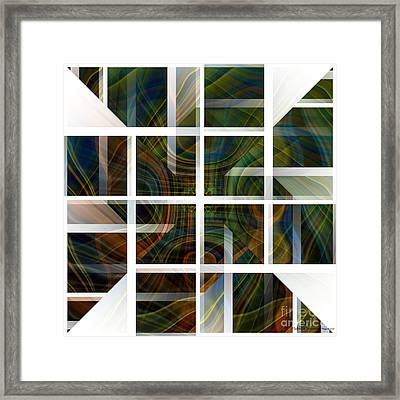 Cutting Life Framed Print