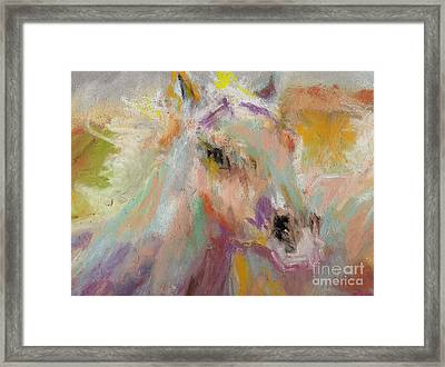 Cutting Loose Framed Print