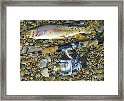 Cuttmorning Framed Print by Mark Jennings