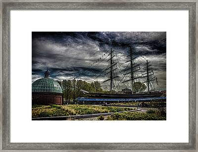 Cutty Sark Framed Print by Martin Newman