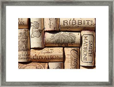 Cuvaison Framed Print by Anthony Jones