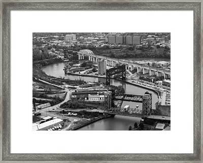 Cuyahoga River Framed Print