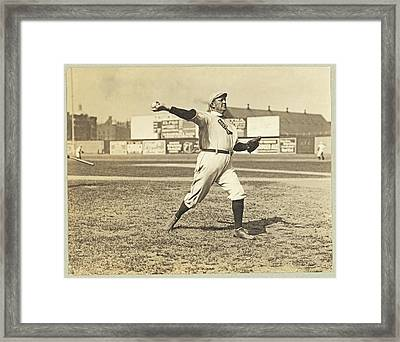 Cy Young July 23rd 1908 Framed Print by Paul Russell