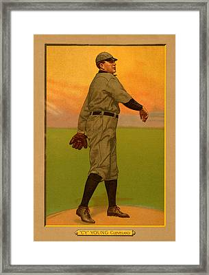 Cy Young Framed Print