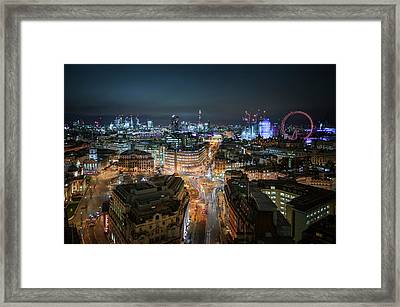 Framed Print featuring the photograph Cyber City by Stewart Marsden