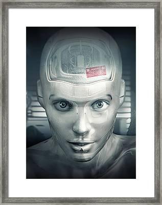 Cyborg Framed Print by Joe Roberts