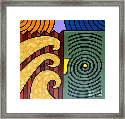 Cycle Of Nature Framed Print by Patrick J Murphy