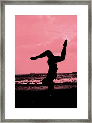 Cycle Of Summer Framed Print by Trudi Southerland