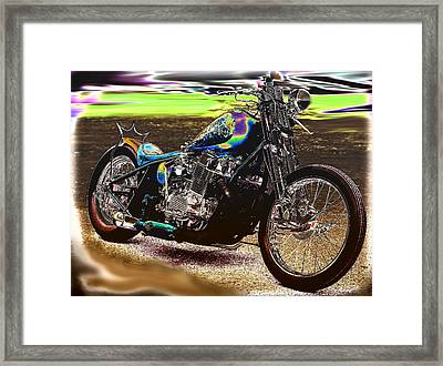 Cycledelic Framed Print