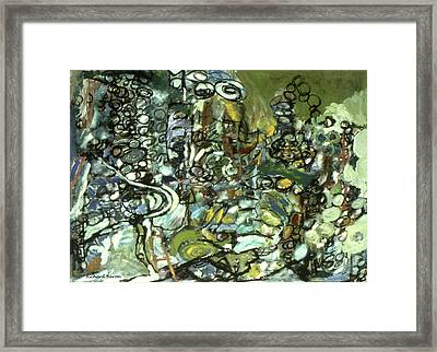 Cycles And Breaks Framed Print