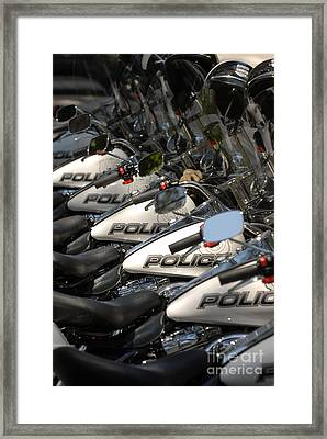 Cycles Framed Print by Dennis Hammer