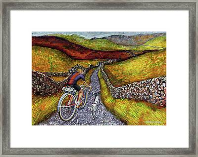 Lancashire Lanes II Framed Print by Mark Jones