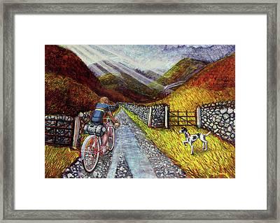 Lancashire Lanes 3 Framed Print by Mark Howard Jones