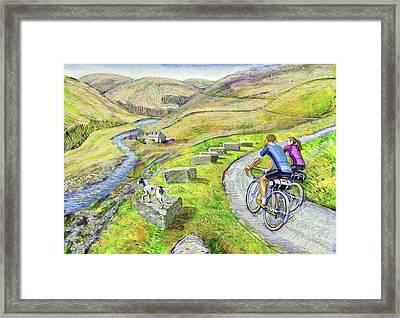 Lancashire Lanes I Framed Print