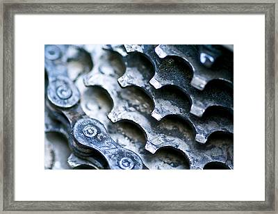 Cycling Lifestyle Framed Print