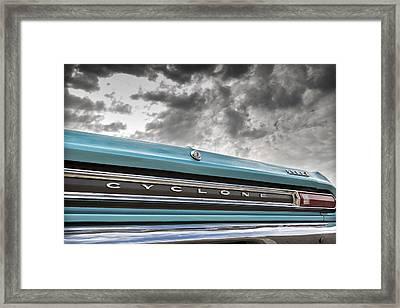 Cyclone Framed Print by Caitlyn Grasso