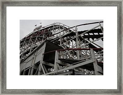 Cyclone Tunnel Framed Print by Christopher Kirby