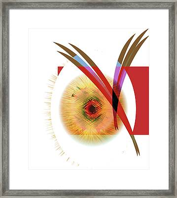Cyclops Framed Print