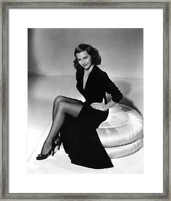 Cyd Charisse, Mgm Publicity Shot, 1949 Framed Print by Everett